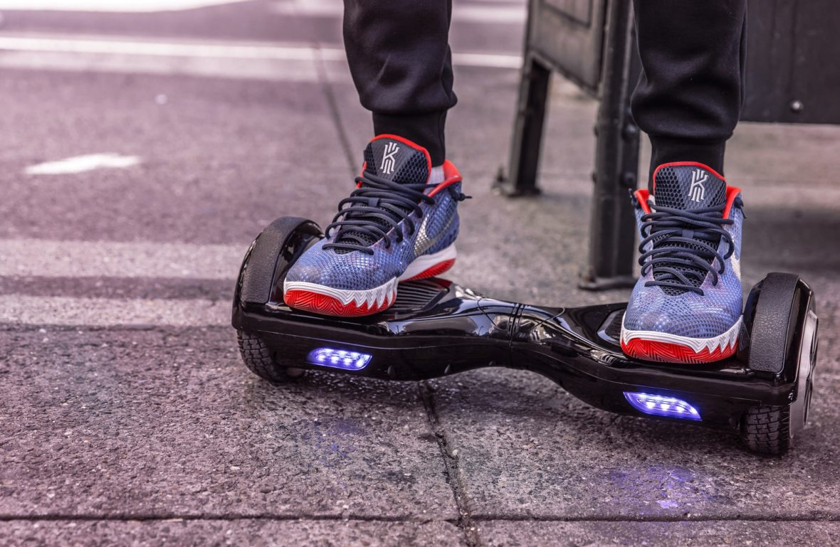 Hoverboards: a new way to a sedentary lifestyle or new way to exercise?